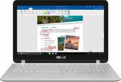 "Flagship Asus Convertible 2-in-1 15.6"" 2018"