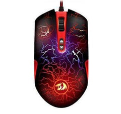 Redragon M701 Lavawolf Gaming Mouse - Black