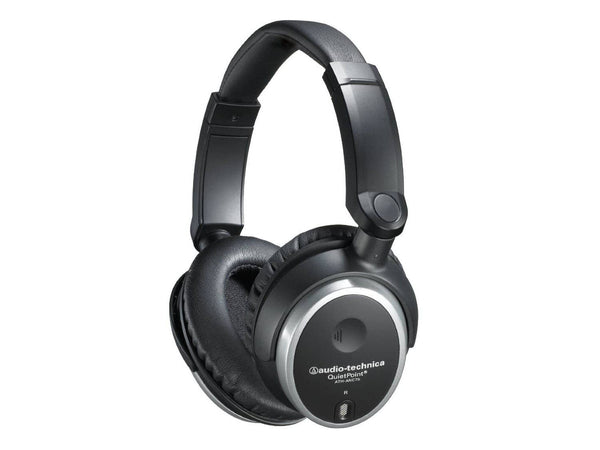 Audio-Technica ATH-ANC7B QuietPoint Active Noise-Cancelling Closed-Back Headphones - Wired