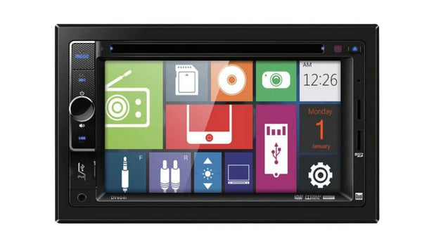 Dual DV604i DVD Multimedia Receiver with Direct USB Control for iPod/iPhone