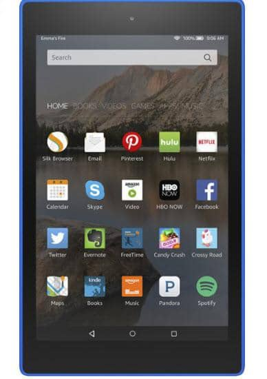 "Amazon - Fire HD 8 - 8"" Tablet 8GB - Blue"