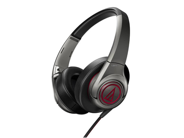 Audio Technica ATHAX5GM Over-Ear Headphones - Gun Metal