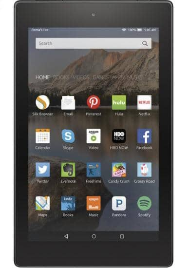 "Amazon - Fire HD 8 - 8"" Tablet 8GB - Black"