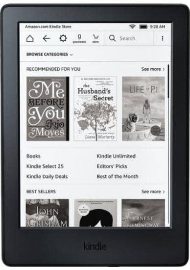 Amazon - Kindle - Black