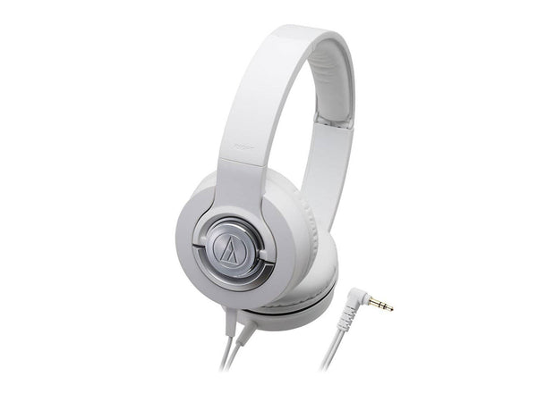 Audio Technica Solid Bass ATH-WS33X Closed-back Dynamic Headphones - White