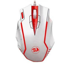 Redragon 902 Programmable Laser Gaming Mouse - White