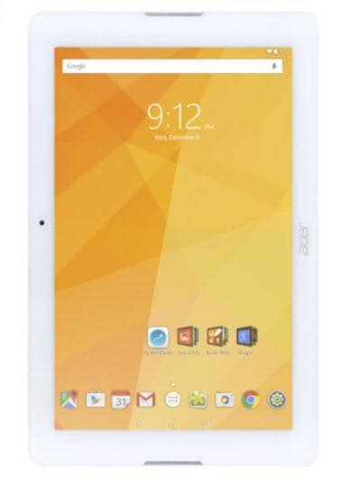 "Acer - Iconia One - 10.1"" Tablet - 32GB - Wi-Fi - White"