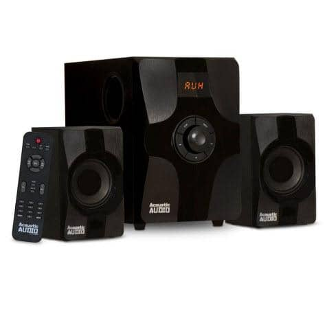 Acoustic Audio AA2131 Bluetooth Home 2.1 Speaker System