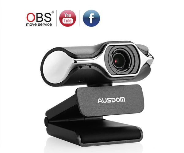 Ausdom Full HD Webcam 1080p, Live Streaming Camera