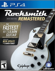 Rocksmith® 2014 Edition - Remastered - PlayStation 4