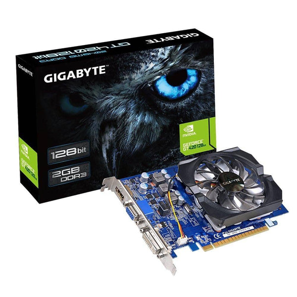 Gigabyte GT 420 2GB DDR3 PCI Express 2.0 x 16  Graphics Card