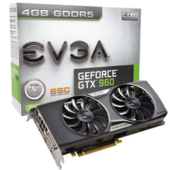 EVGA GeForce GTX 960 4GB SSC GAMING  Graphics Card