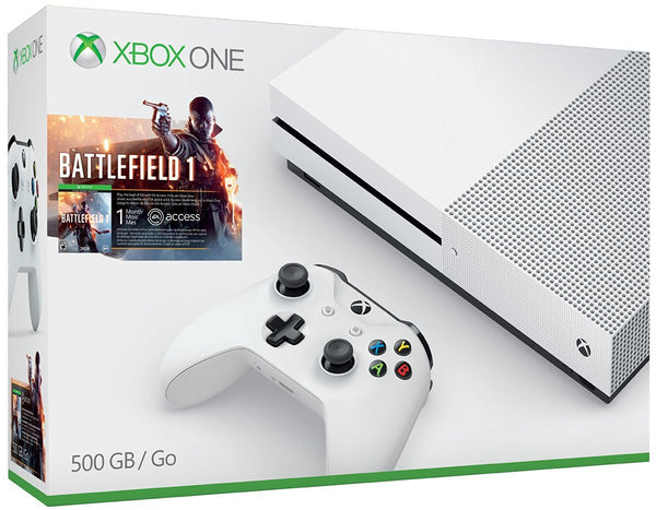 Xbox One S 500GB Console - Battlefield 1 Bundle - Preorder