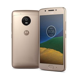 Motorola Moto G5 XT1676 Gold, Dual Sim, 5 inch, 16GB, GSM Unlocked International Version