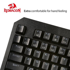 Redragon K558 ANALA Rainbow RGB Mechanical Gaming Keyboard