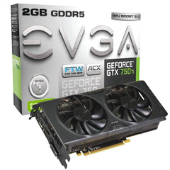 EVGA GeForce GTX 750 DVI-I HDMI Display Port GDDR5 Graphics Card