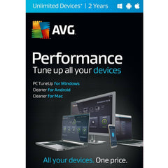 AVG Performance | Unlimited Devices| 2 Years