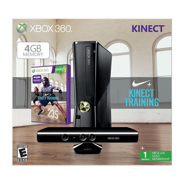 Xbox 360 4GB with Kinect Nike+ Bundle
