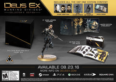 Deus Ex: Mankind Divided - Collector's Edition - Xbox One