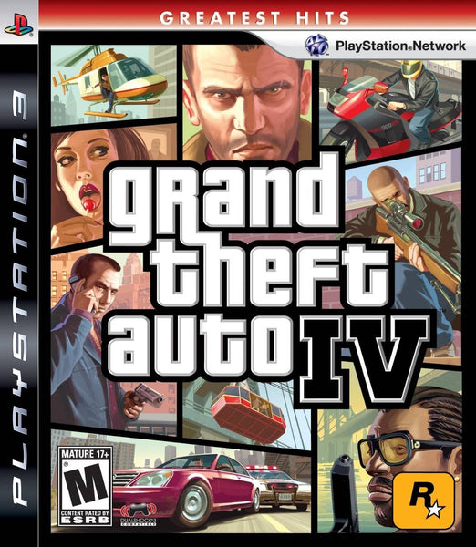Grand Theft Auto IV - PS3