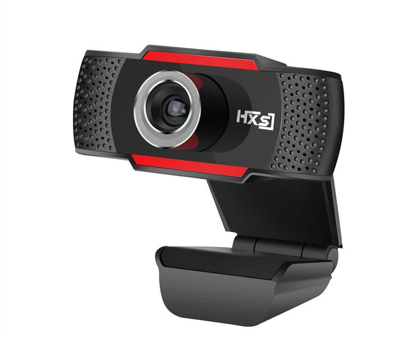 HXSJ HD USB Webcam HD 720P PC Computer Camera Video Calling and Recording with Noise-canceling Mic