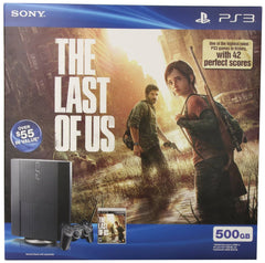 PlayStation 3 Last of US Bundle - 500GB - Black