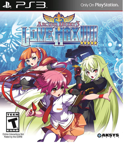 Arcana Heart 3: LOVE MAX!!!!! - PlayStation 3