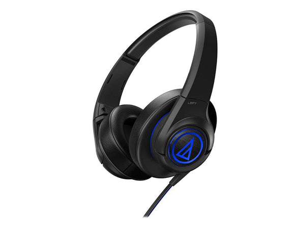Audio Technica ATHAX5BK Over-Ear Headphones - Black