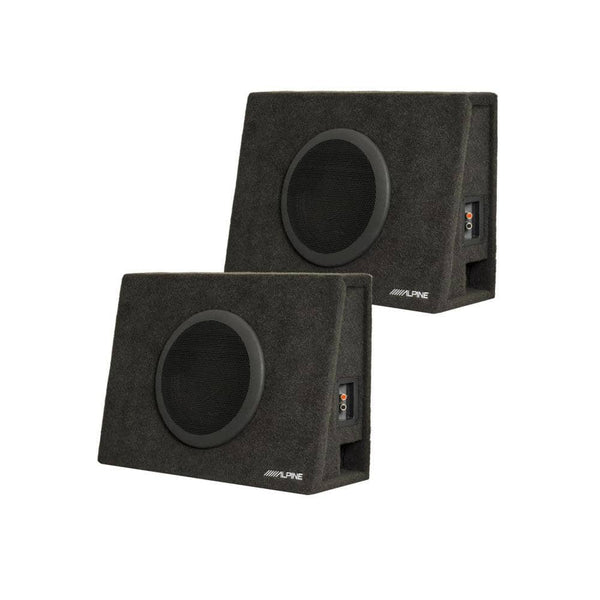 "Alpine SBT-S10V Bundle - Two Alpine SWT 10"" Loaded Truck Enclosures (2-Ohms each)"