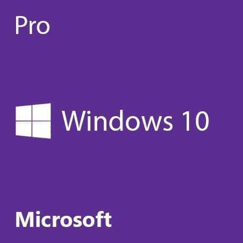 Microsoft Windows 10 Professional 64 Bit Product Key Card