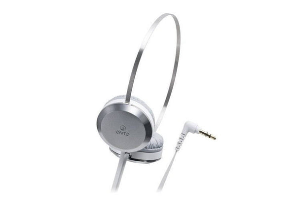 Audio Technica ATH-ON303 WH | Portable Headphones (Japan Import)