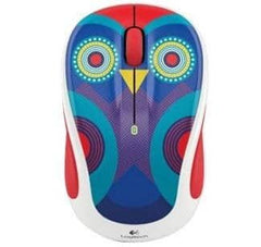 Logitech - M325c Optical Mouse - Owl