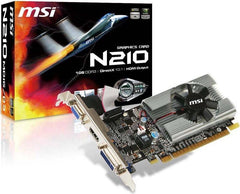 MSI Geforce 210 1024 MB DDR3 PCI-Express 2.0 Graphics Card