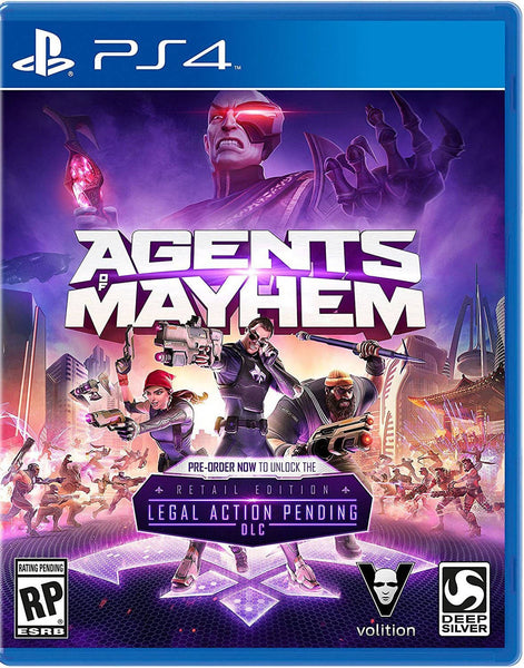 Agents of Mayhem - PlayStation 4