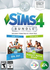 The Sims 4 Spa Day & Perfect Patio Bundle - Windows|Mac