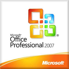 Microsoft Office Professional 2007 Full Version Disc