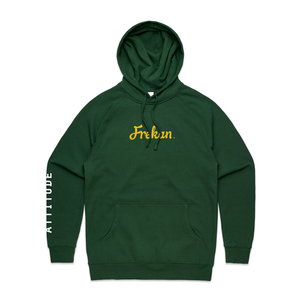 Frekan Forest Green Pullover Hoodie