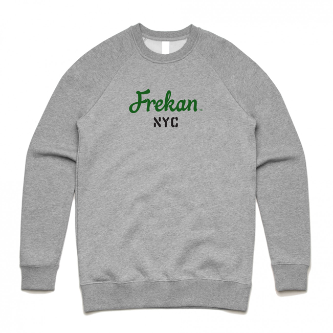 Frekan NYC Grey Crew sweater