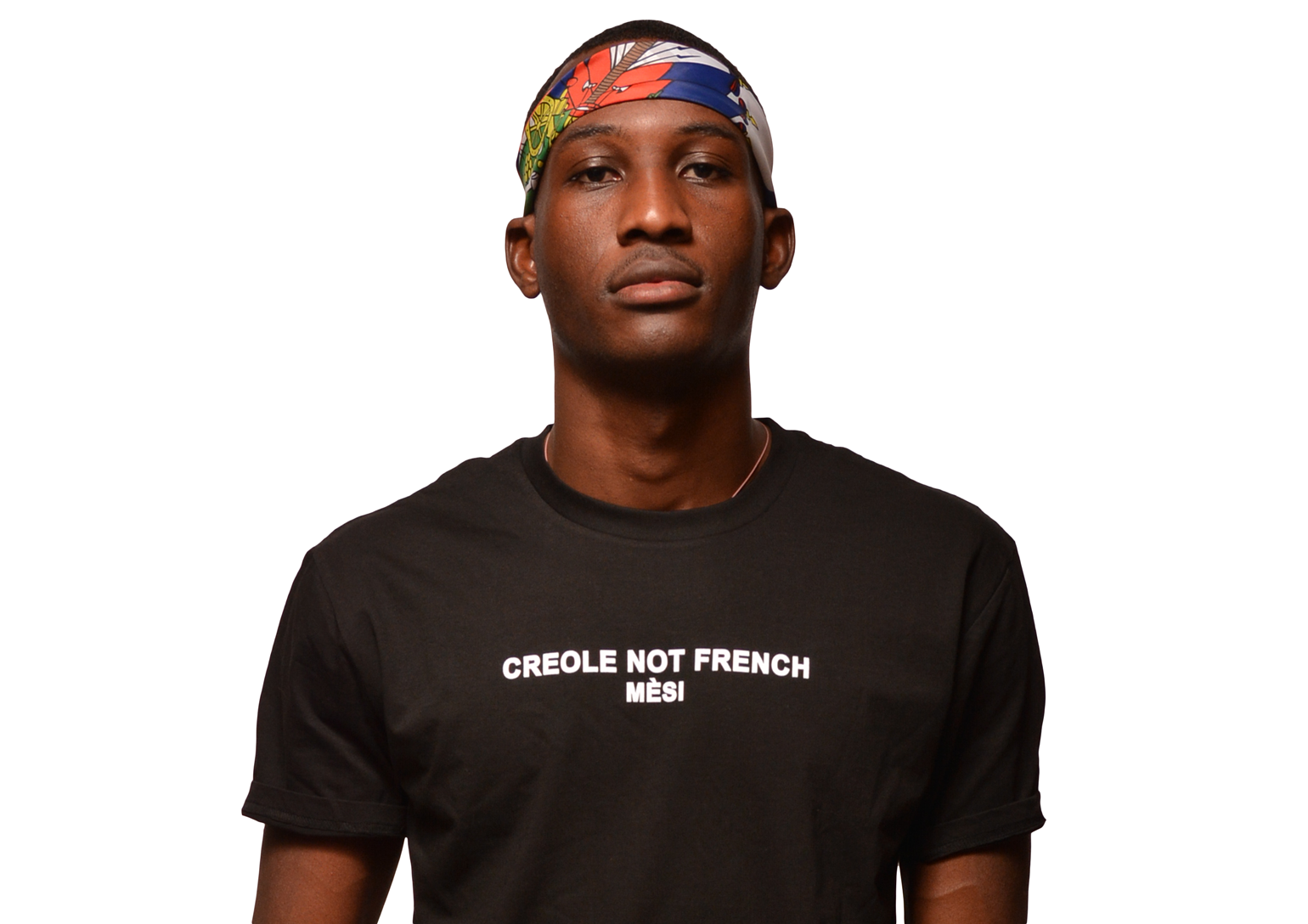 Creole not French Mesi - Black T-shirt | FREKAN, Inc