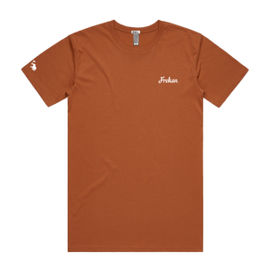 Frekan Series Rust T-shirts | FREKAN, Inc