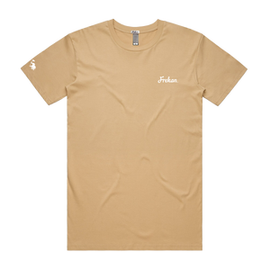 Frekan Series Tan T-shirts | FREKAN, Inc