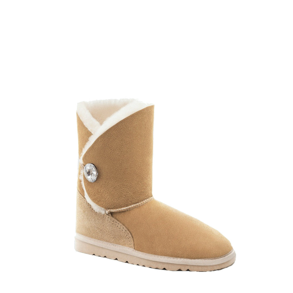 Load image into Gallery viewer, DIANA CRYSTAL MID CARAMEL - PURE OZ AUSTRALIAN MADE UGG BOOTS