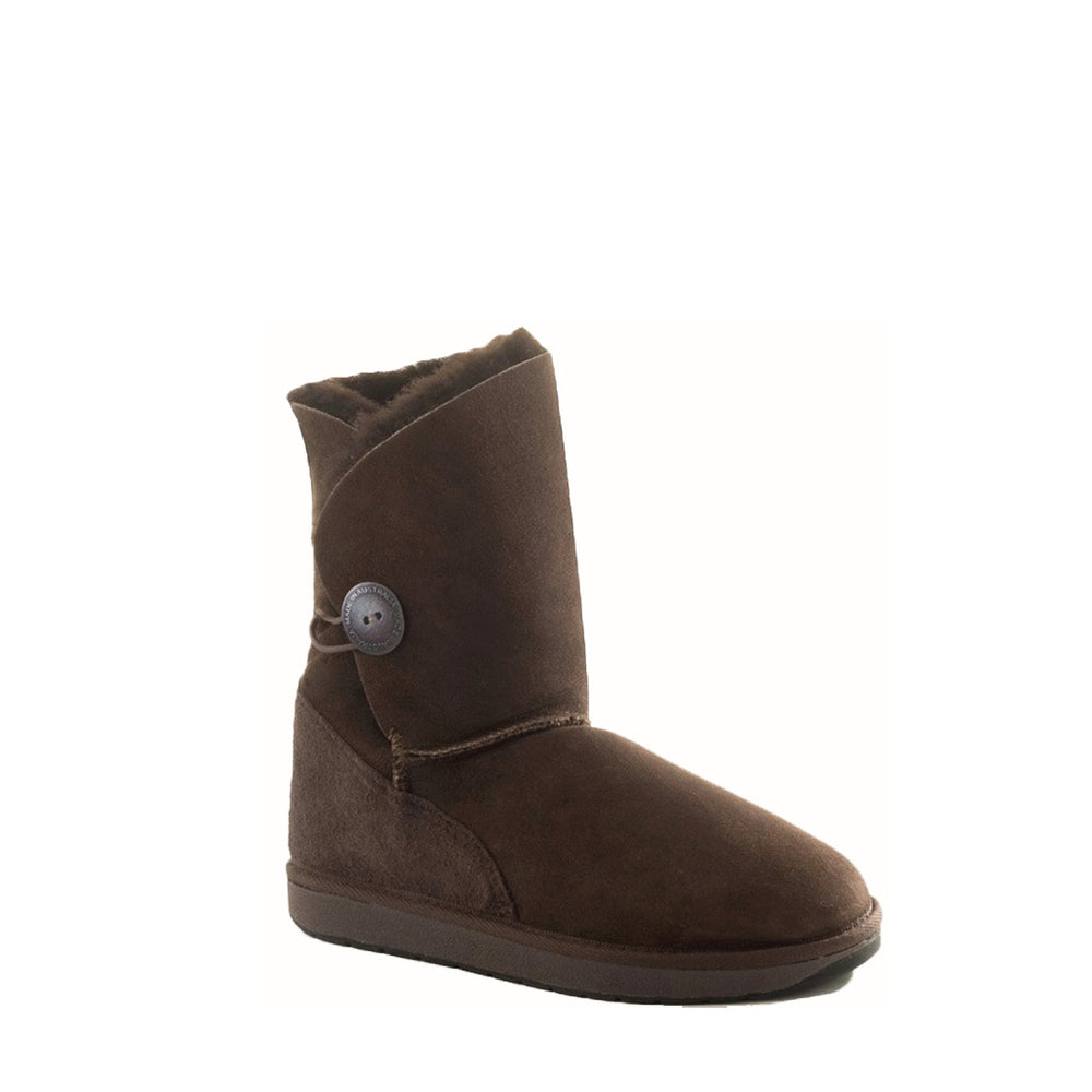 DIANA MID MOCHA - PURE OZ AUSTRALIAN MADE SHEEPSKIN UGG BOOT
