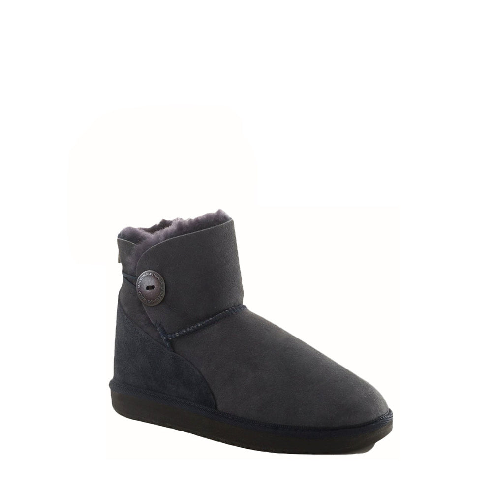 DIANA MINI BLACK - PURE OZ AUSTRALIAN MADE SHEEPSKIN UGG BOOT