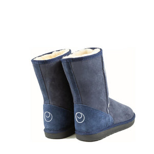 ICON MID MIDNIGHT BACK - PURE OZ AUSTRALIAN MADE SHEEPSKIN UGG BOOTS