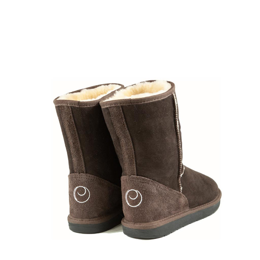 ICON MID MOCHA BACK - PURE OZ AUSTRALIAN MADE SHEEPSKIN UGG BOOTS