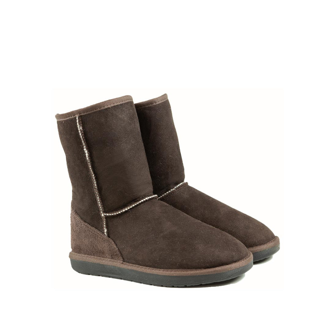 ICON MID MOCHA PAIR - PURE OZ AUSTRALIAN MADE SHEEPSKIN UGG BOOTS