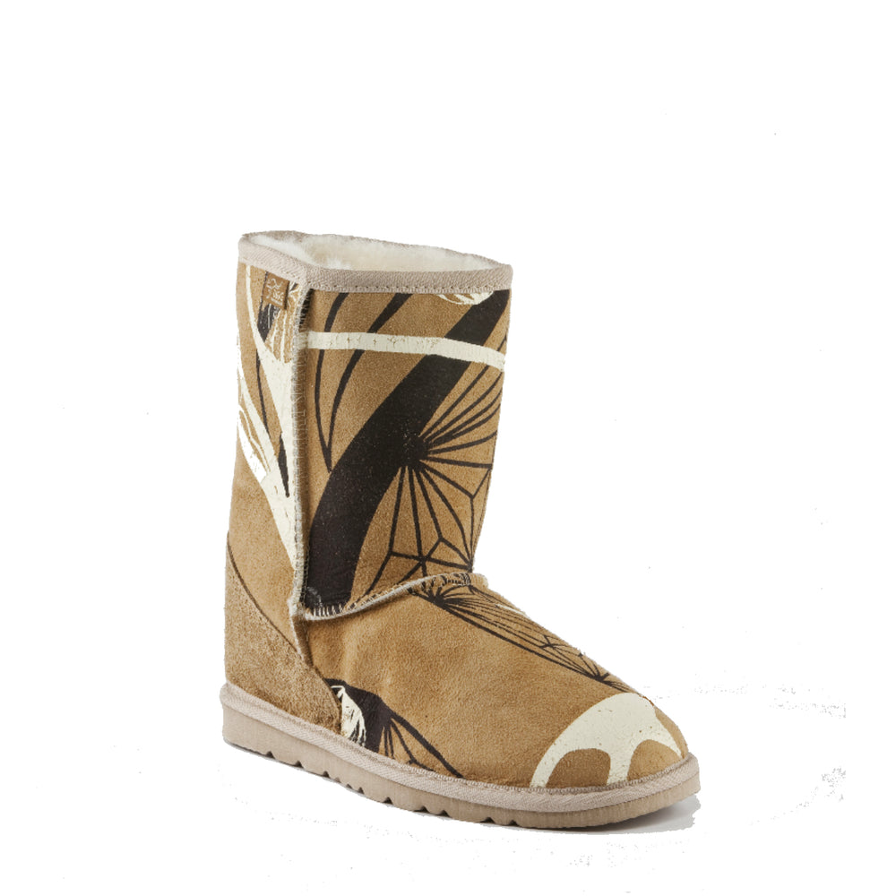 ICON MID PRINT CARAMEL - PURE OZ AUSTRALIAN MADE UGG BOOTS
