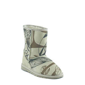 ICON MID PRINT SAND - PURE OZ AUSTRALIAN MADE UGG BOOTS