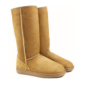 Load image into Gallery viewer, ICON CARAMEL PAIR - PURE OZ - AUSTRALIA MADE SHEEPSKIN BOOT